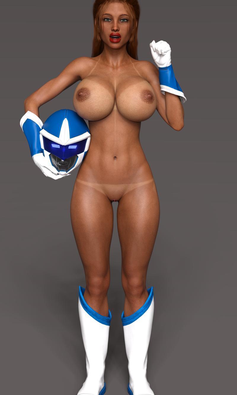 Blue Ranger: Elizabeth!