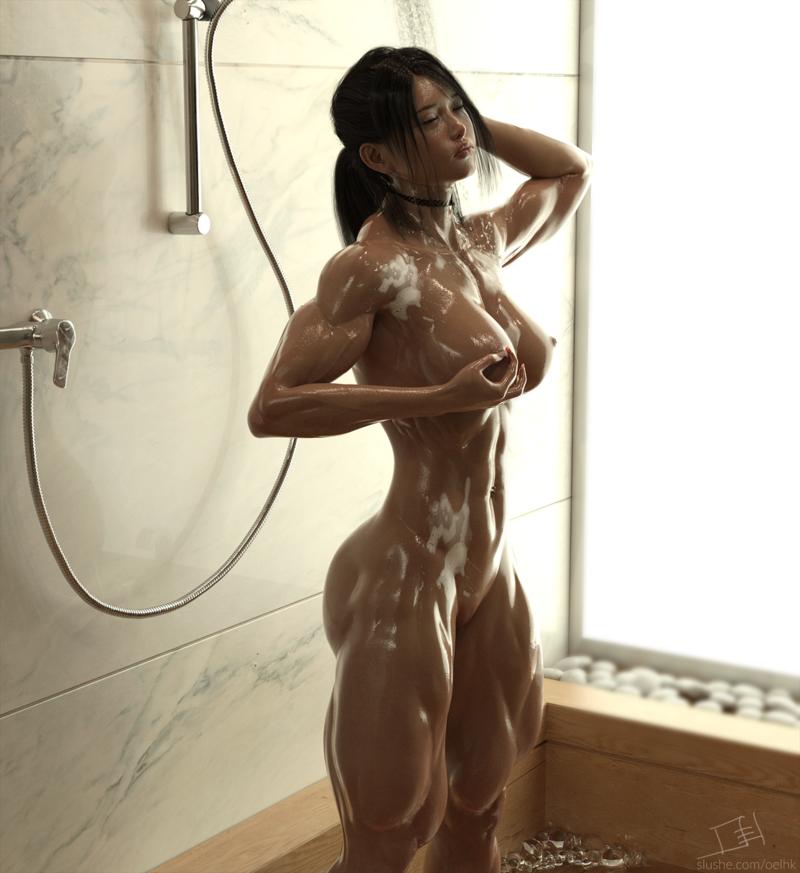 Alessia - Shower