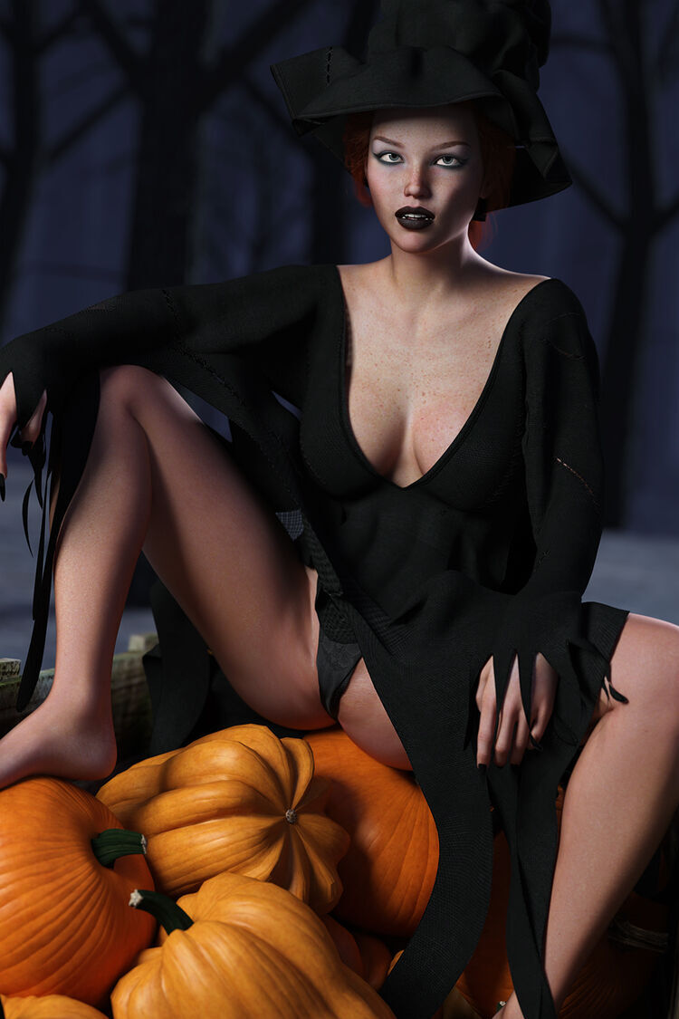 Farmer by Day. Witch by Night.