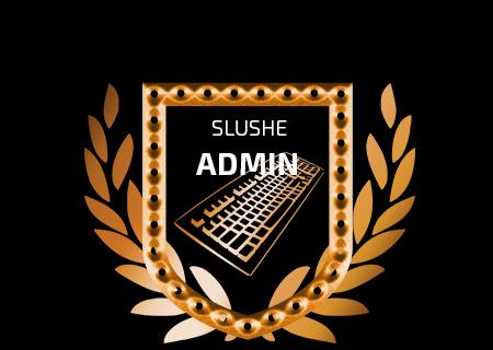 Slushe.com Admin Badge