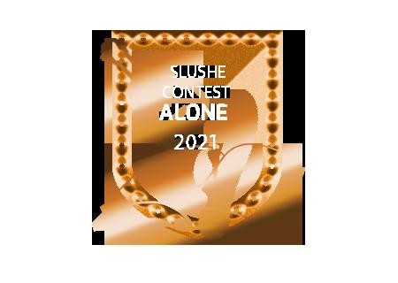0048 Badge: Winner, Alone Contest 2021 Gold
