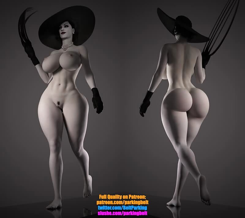 Lady Dimitrescu is THICC and BOUNCY 1 also Launching a Patreon!