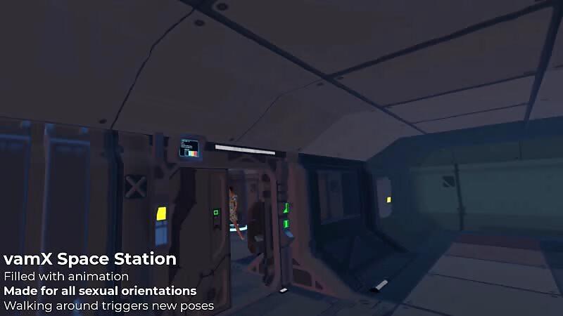 vamX Space Station Mega Scene