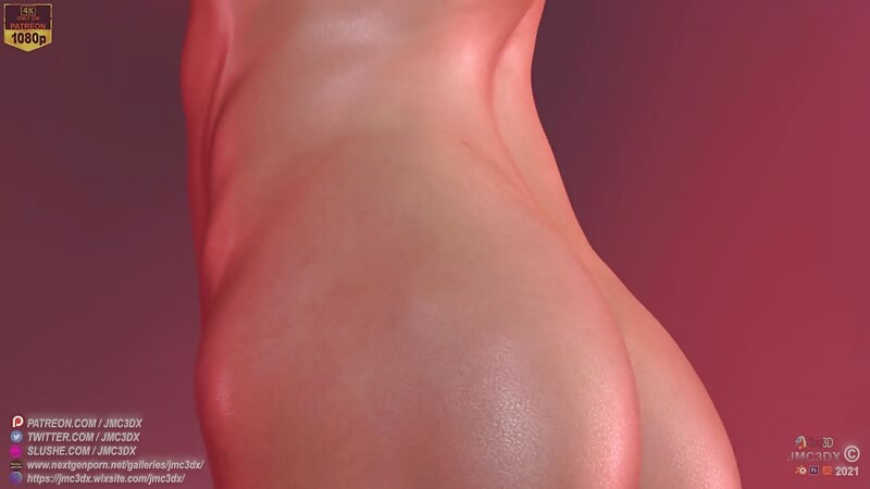 JMC3DX: SexxxyJessica extra pinup clip (Jess - 1K followers edition)