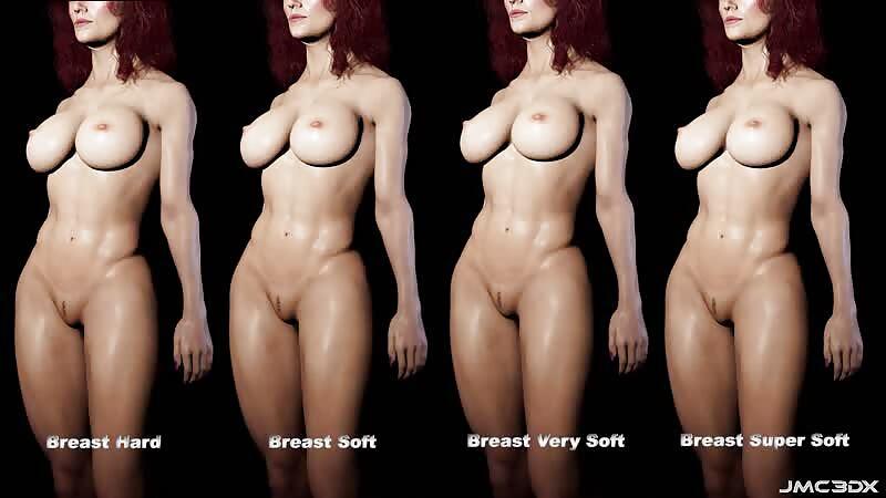 JMC3DX: Sohpie - Dforce Breast Simulation