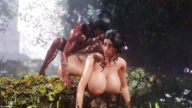 Nico Robin - Jungle S, animation 4