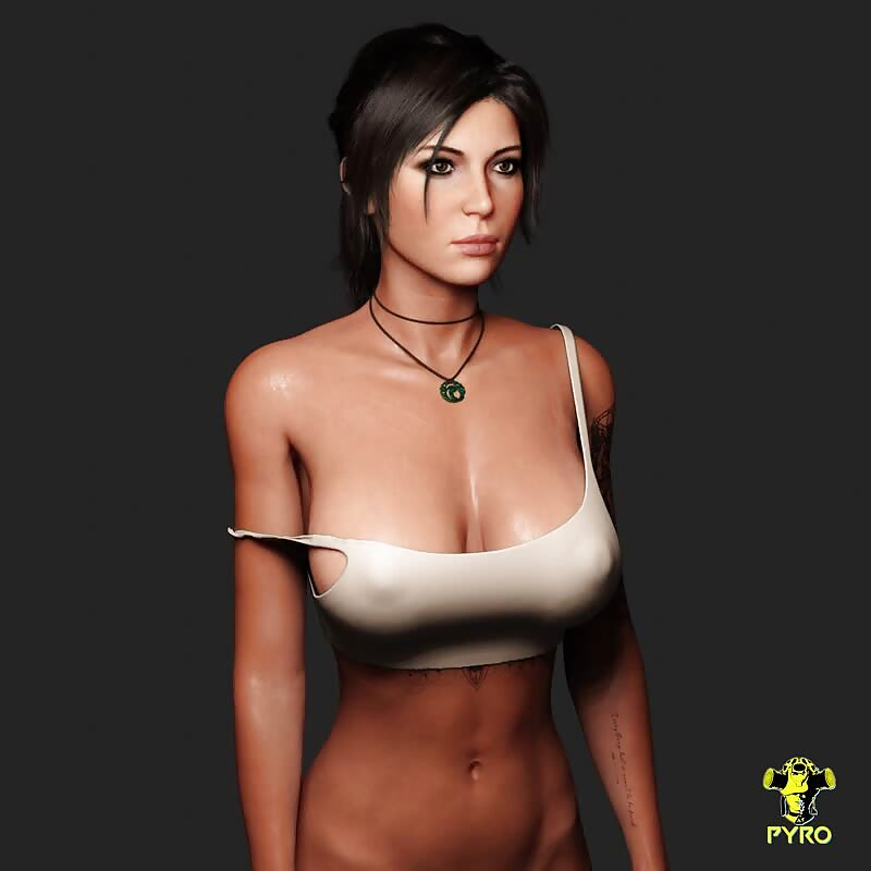 Lara Dynamic Cloth Test 1