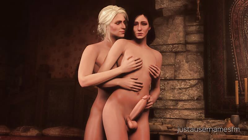 Yen & Ciri Thighjob