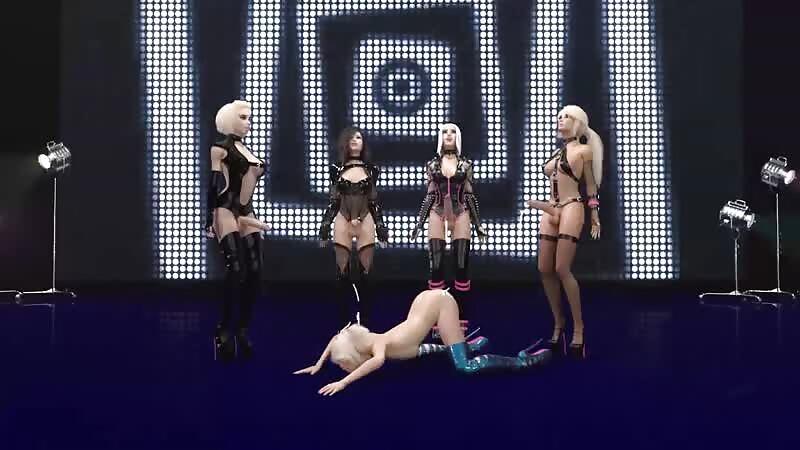 Bonkers Porn Music Video 3 - Soaking Alice