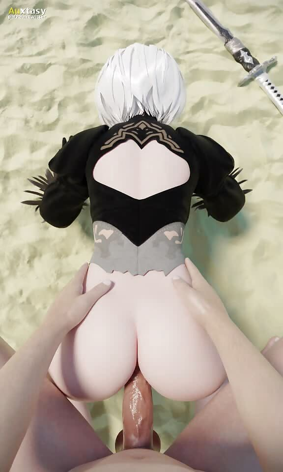 2B fucked in the ass POV