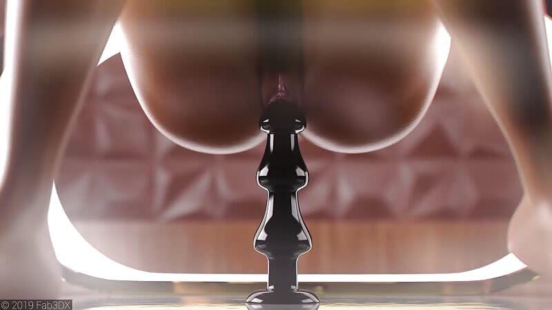 Nikki Anal Dildo Animation 1080p