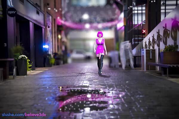Night Walking Video