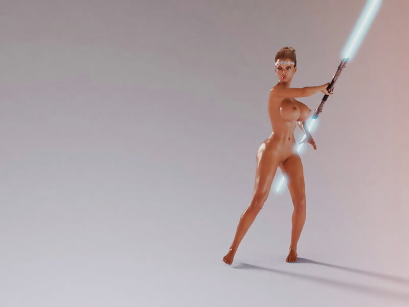 Jedi Animation Test 2