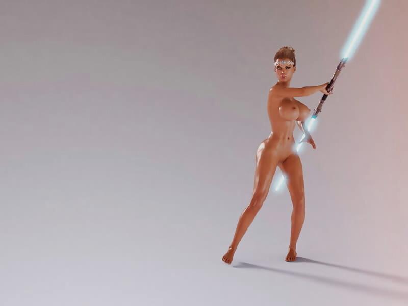 Jedi Animation Test 2