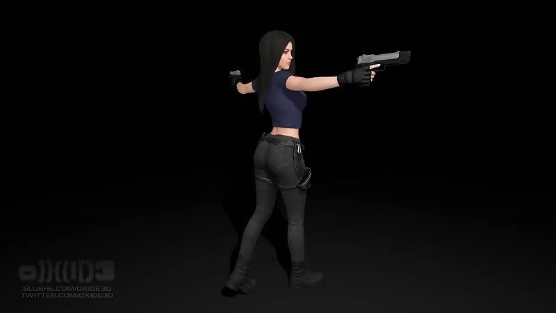 Lara - Pose