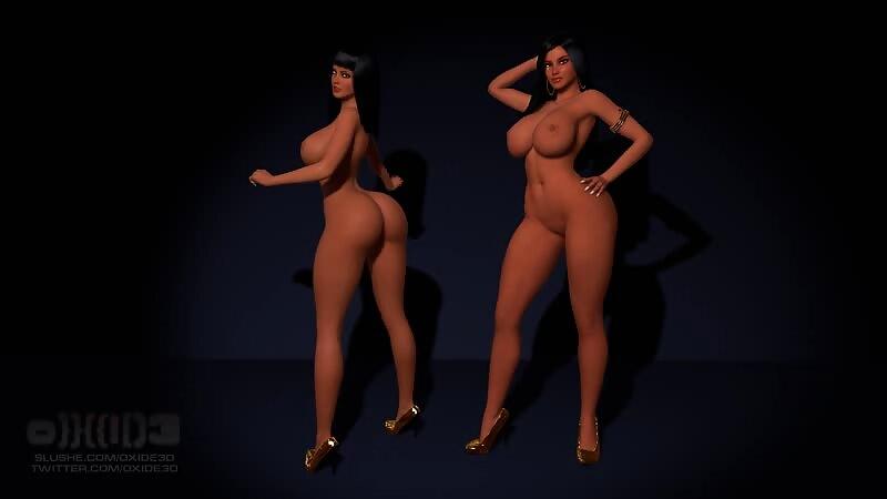 Osira & Farah - Pose